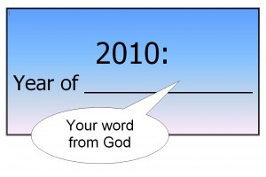 prophetic word for 2010